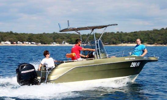 Rent A Picaro 20 Open Boat In Funtana