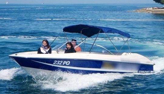 Rent A Blune Boat In Funtana