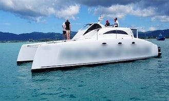 """Charter a Power Catamaran """"Rendezvous"""" From Phuket, Thailand"""