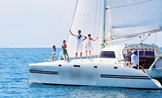 """Charter """"Da Vinci Catamaran"""" from Phuket,Thailand"""