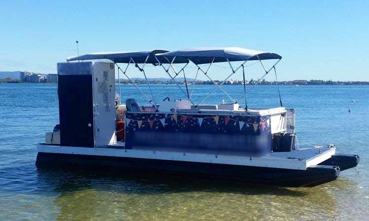 Rent a Pontoon in Hope Island, Australia