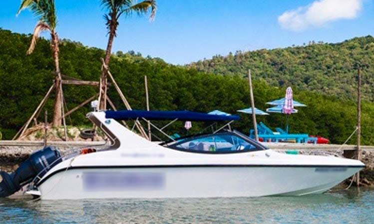 Charter a 27' Cuddy Cabin in Ko Samui, Thailand