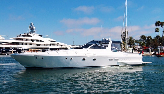 60' Luxury Yacht In Marina Del Rey - Get On The Water For Summer!