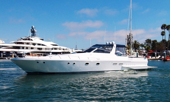 60' Luxury Yacht,  Get On The Water Before Summer Ends.