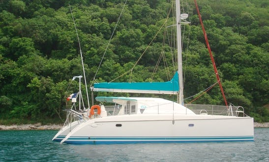 Sailing Charter On 39' Dufour Sailing Catamaran In Grande-terre, Guadeloupe