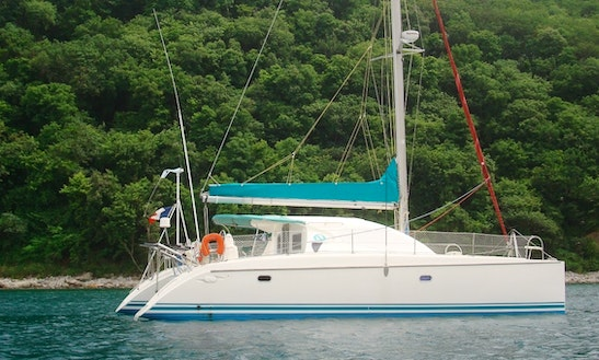 Sailing Charter On 39' Dufour Sailing Catamaran In Grande-terre, Guadeloupe