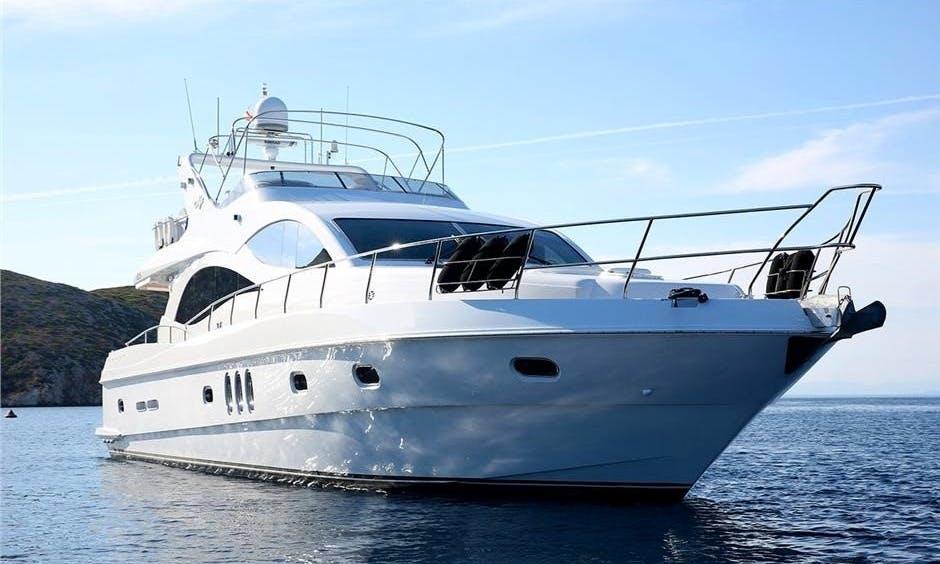 Charter Luxury Yacht Majesty 66 in Greece (Corfu)