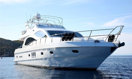 Charter Luxury Yacht Majesty 66 In Greece (corfu)