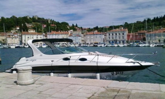 Charter 30' Larson Cabrio Motor Yacht In Portorož, Slovenia