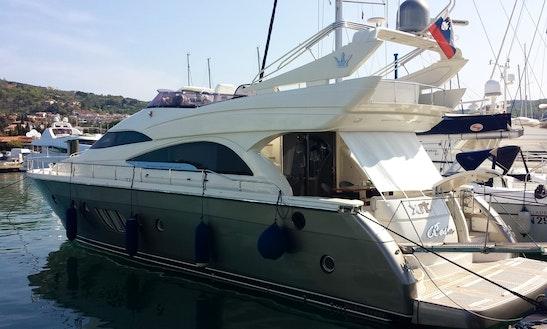 Charter 62' Dominator Power Mega Yacht In Portorož, Slovenia