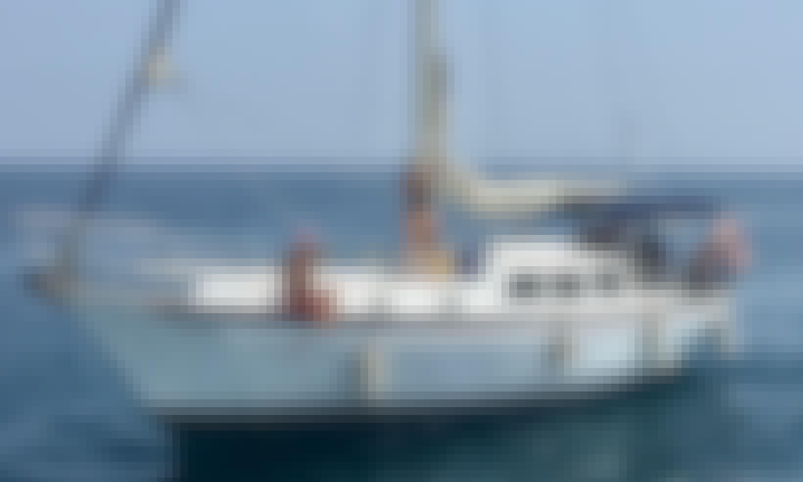 """Kanowa"" 36 feet sailboat for rent in Cartagena"