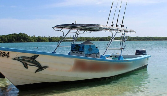 Deep Sea Fishing Boat Charter  In Western Tobago