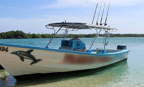 Deep Sea Fishing Boat In Western Tobago