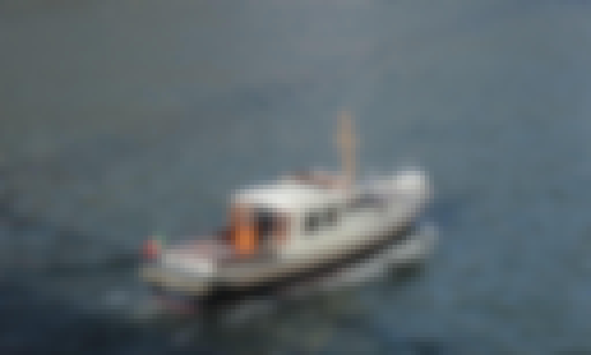 Classic boat rental in Porto City