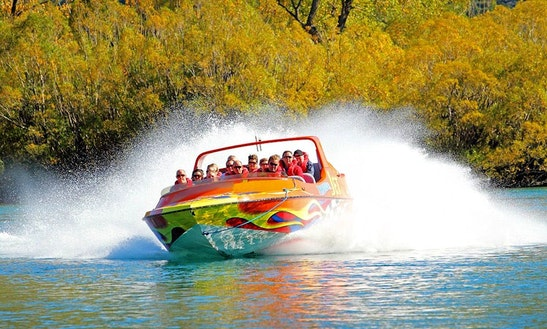 Thunder Jet Ride In Queenstown