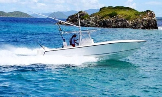 35ft Center Console Fishing Charter In St. Thomas, Us Virgin Islands