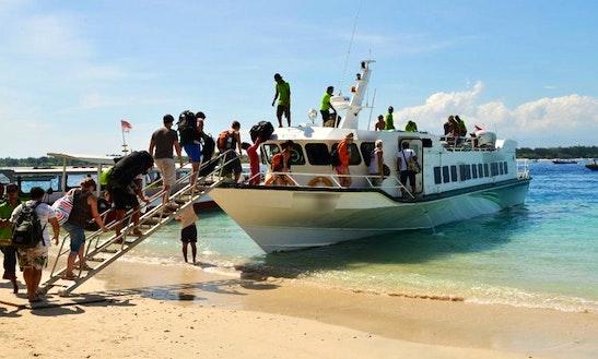 Passenger Boat In Bali, Indonesia