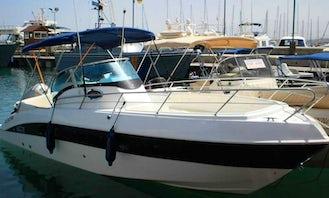Charter 26 ft Marinello Speedboat in Cyprus, Poli Crysochous