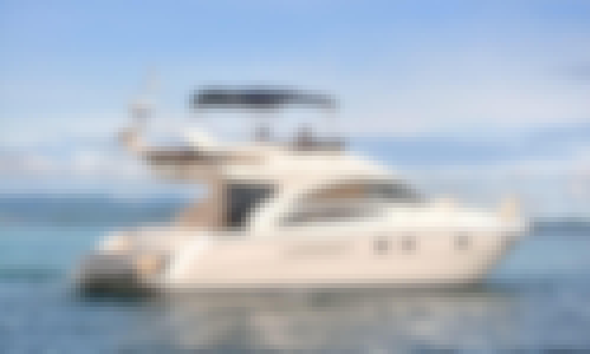 Princess Eva Flybridge Yacht