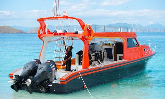 Passenger Boat (speedboat) Rental In Komodo