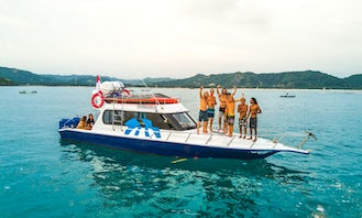 """Charter the 36ft """"Ozone Sea Horse"""" Motor Yacht in Pujut, Indonesia"""