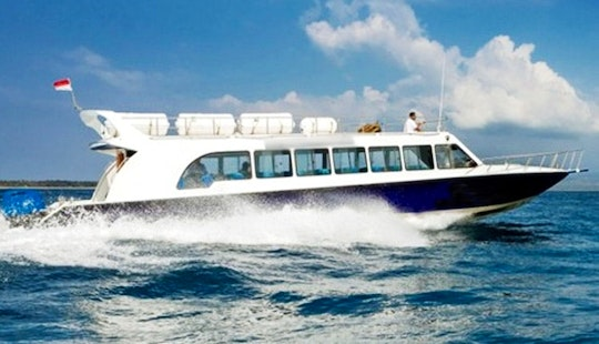 Comfortable Fast Boat Trip For 60 Person In Indonesia