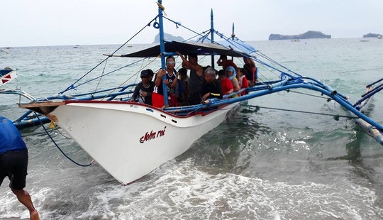 Beautiful Traditional Boat For Charter In San Felipe, Philippines