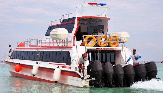 Boat Cruising Trips In Nusapenida, Indonesia
