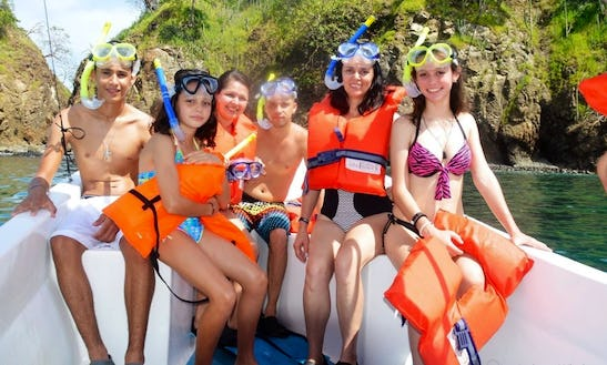 Boat Tour With Snorkeling In Guanacaste, Costa Rica