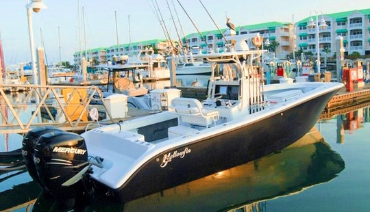 32ft Fishing Charter In Key West, Florida