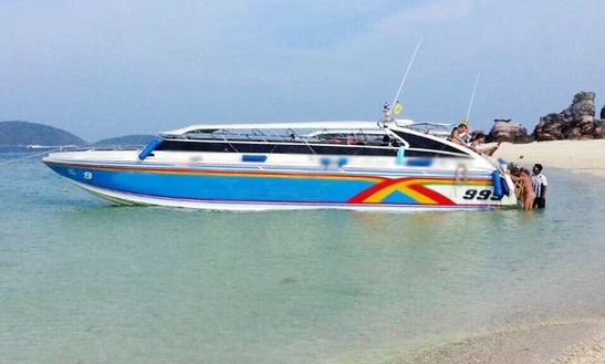 Charter Passenger Boat In Koh Keaw, Phuket For 35 People