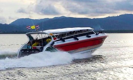 Charter Nulraina Passenger Boat In Koh Keaw, Phuket