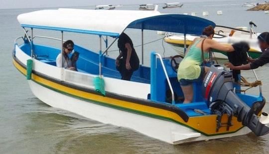 Glass Bottom Boat Trip In Bali, Indonesia