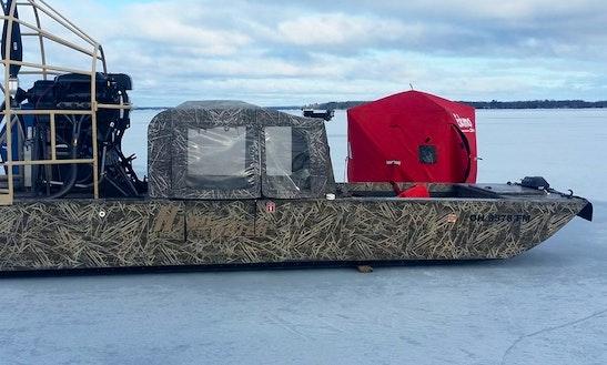 Cuddy Cabin/walk Around Fishing Charter In Vermilion