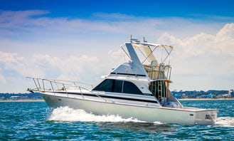 Fishing Charter On 35' Bertram Sports Fisherman Yacht In Punta del Este, Uruguay