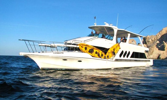 Feel The Breeze Of Cabo San Lucas, Mexico - Charter This Power Mega Yacht