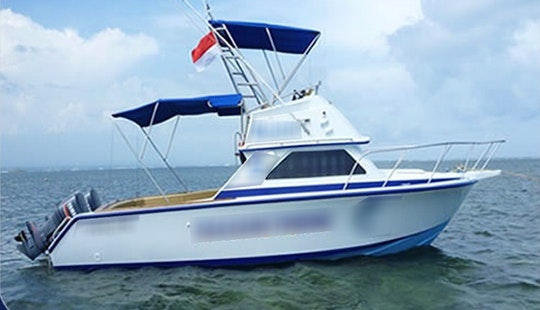 32'  Sport Fishing Boat In Bali, Indonesia