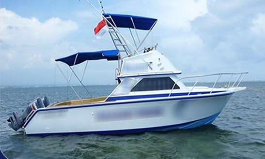 32'  Sport Fishing Boat In Bali, Indonesia