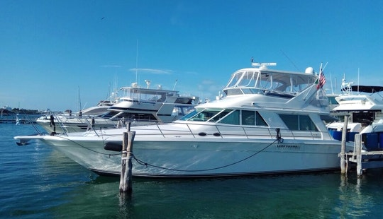 15 Pax Motor Yacht Charter In Cancún - Captained Only