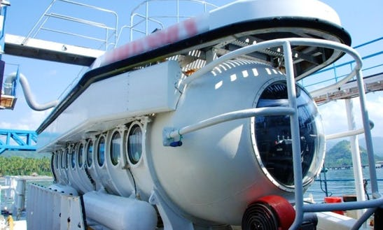 Submarine Tour In Indonesia