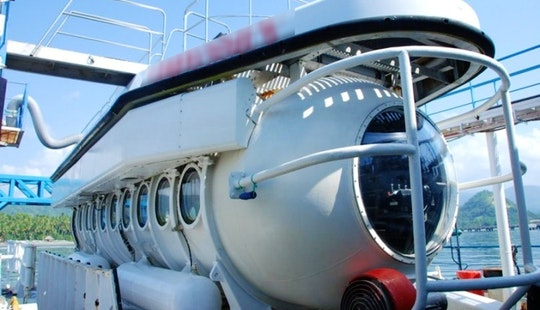 Submarine Tour In Indonesia