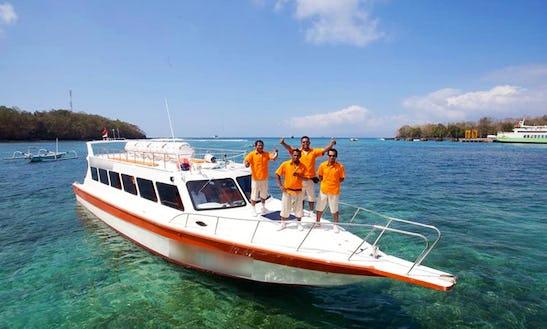 Passenger Boat Trips In Kuta, Indonesia