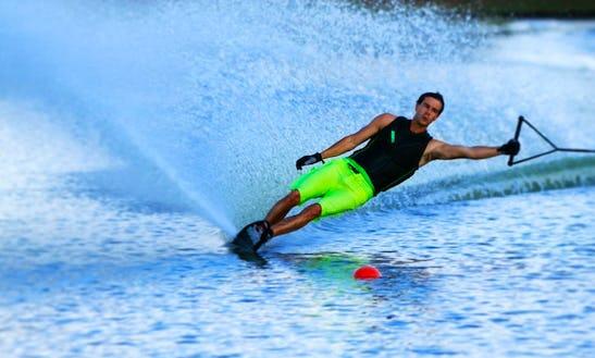 Enjoy Water Skiing In Serra, Portugal