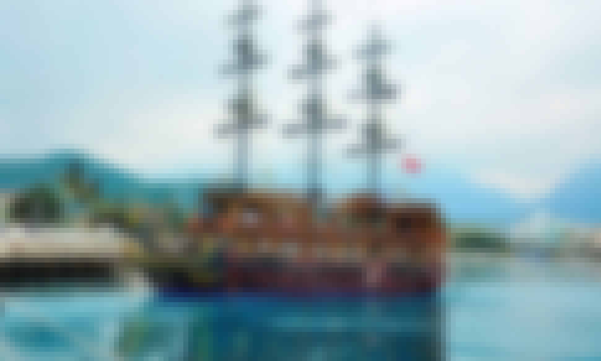 Enjoy Pirate Boat Tours in Antalya, Turkey