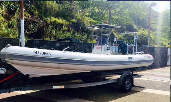 Enjoy Fishing in Funchal, Portugal on Rigid Inflatable Boat