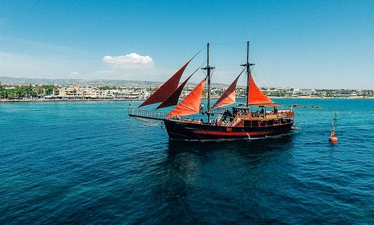 Enjoy Cruising In Paphos, Cyprus On Jolly Roger Ii Passenger Boat