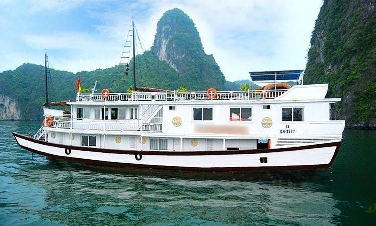 HALONG BAY 2 DAYS 1 NIGHT TOUR FROM HANOI WITH COZY BAY CRUISES