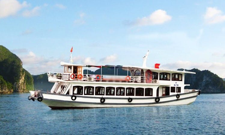 HALONG BAY ONE DAY GROUP TOUR FROM HANOI WITH ALOVA CRUISES