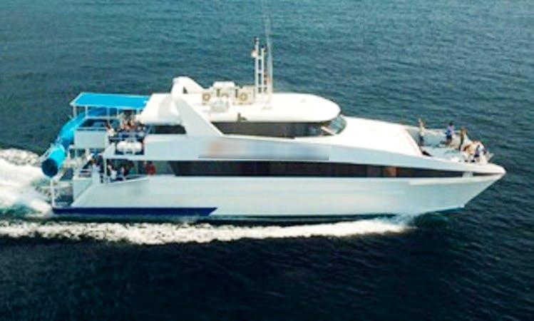 Charter 26' Bali Fun Ship Power Catamaran in Bali