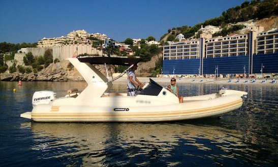 Rent The 22ft Solemar Rib In Platja De L'arenal, Spain